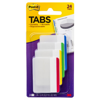 Tabs Post It Durable 50mm 686F-1 Filing Tabs Per Pack hanging file Red Blue Green Yellow