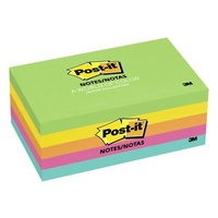 Post it Notes  76x125 655-5uc Ultra Colours 3m pack 5 JAIPUR 5x 100 sheet pads