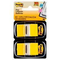 Flags Post-it 680-YW2 Yellow 25x43mm 2 pack 3M ID 70071206018