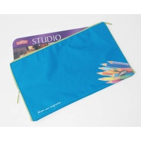 Pencil Case 375x225mm Derwent designed to fit tin of 72 pencils - each