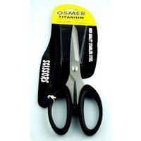 Scissors 216mm Osmer Titanium Black Handle OS200S