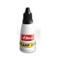 Ink for self-inking stamper 28ml Black S61 bottle Shiny and stamp pads