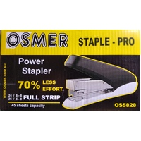Stapler 45 sheet Osmer Power Stapler Pro Takes 24/6 And 26/6 26/8 OS5823