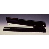 Stapler > 20 sheet 26/6 Full strip Jupiter BLACK Rexel R01005 - each