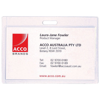 Laminating Pouch 65x108 240 Micron Self seal slotted pack 10 Rexel 91106 business card size