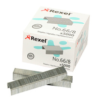 Staples 66/ 8 To suit Giant Rexel R06065 - box 5000