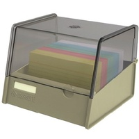 5x3 Card Box Beige Esselte 136250BEI for  System Cards