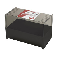 8x5 Card Box Black for 8x5 or 150x200mm system cards