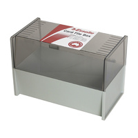 8x5 Card Box Dove Grey for 8x5 or 150x200mm system cards