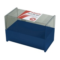 8x5 Card Box Blue Directors Blue for 8x5 or 150x200mm system cards