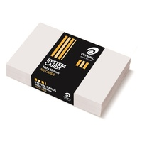System Card 6x4 100x150mm Plain White Pack 100 no lines un-ruled