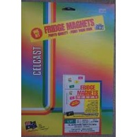Fridge Magnets IJ37 20 sheet Celcast 71020 - pack 2