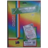 Greeting cards InkJet Canvas Texture 71082 Celcast IJ46 - pack 10