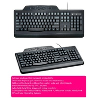 Computer Keyboard Kensington Pro Fit 72407 - each