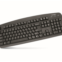 Computer Keyboard Kensington Comfort Type USB/PS2 64338 - each