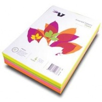 Copypaper A4 Victory Fluoro Assorted 75gsm Pack of 500 -