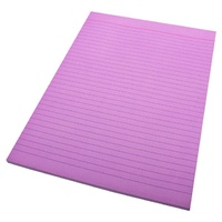 Pads Office A4 Ruled Bank Quill Lilac x10