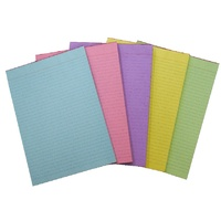 Pads Office A4 Ruled 5 Colour pack Quill 01356 - 5 pads