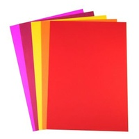 Paper A4 Quill XL 80gsm Office Assorted Hot Colours Pack 100