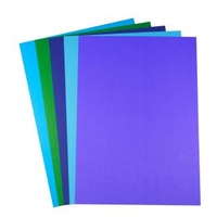 Paper A4 Quill XL 80gsm Office Assorted Cold Colours Pack 100