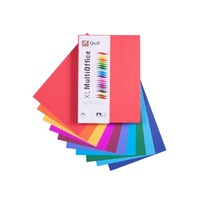 Copypaper A4 80gsm Assorted Colours ream 500 Quill XL 90190