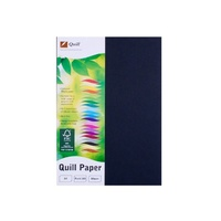 Paper A4 Quill XL 80gsm Office Black Pack 100