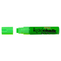 Liquid Chalk Dry Wipe 15mm Green Markers Texta Jumbo Card of 1 0388050