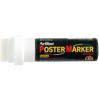 Poster Marker Artline 30mm White