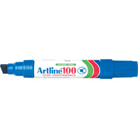 Marker Artline 100 Broad Tip Blue box 6 Australia