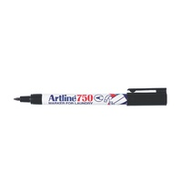 Laundry Marker Black Artline 750 175001 - box 12