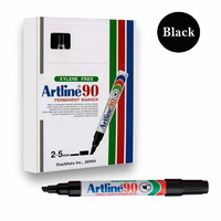 Marker Artline  90 Permanent chisel Black Box 12 #109001