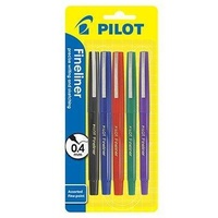 Pilot Fineliner Pens SWPP 8 Colours 600426 - wallet 8
