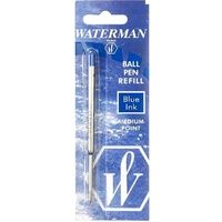 Waterman Ball Point Refill Med Blue Waterman - each