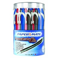 Pens Flexgrip Elite Retractable Canister of 48 Papermate