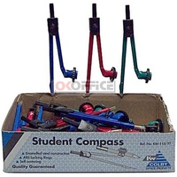 Compass Die Cast Metal Student Compass KW-113 - box 25