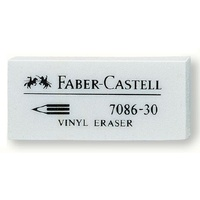 Eraser Medium x30 Faber 7086 White Box 30 only stocked NSW