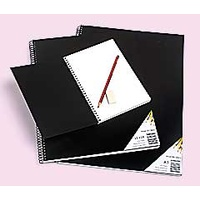 Visual Art Diary Junior White pages Quill PVC 10501 - each