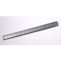Ruler 600mm Steel Marbig 975710 - each