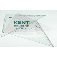 Set Square 250mm Kent 8 - set 2  0087080 ** not normally stocked
