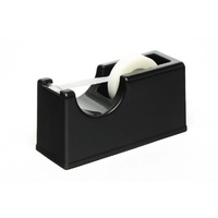 Tape Dispenser Desk top Small Rolls BLACK Marbig 8702002 - this is only for small rolls- takes 33 metre rolls