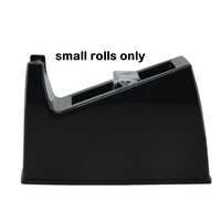Tape Dispenser Desk top Small Rolls BLACK TC2051 Osmer, this is only for small rolls- takes 33 metre rolls