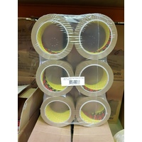 Tape Packaging 3M Box Sealing 371 48x75m 6x brown rolls Medium duty