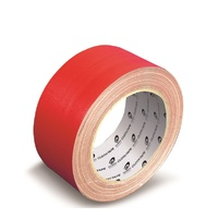 Tape Bookbinding Cloth Wotan 50x25m Red roll