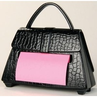 Stick on note Handbag Purse including notes - Purse Dispenser PD654US
