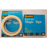 Tape Magic Tape 811 24x66m Magic Removable Tape 0251793 - sold roll