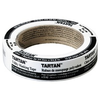 Tape Masking Tape Paper 24x55m Tartan General purpose 5142 3m - each