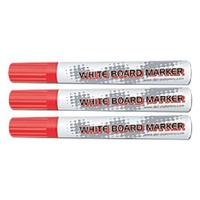 Whiteboard Marker Bullet Point Red Deli Box 10