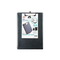 Clipboard PVC A4 Black Only Deli
