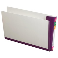 Fullvue Shelf Lateral File White Avery 165715PUR Purple Tab & Spine box 100 Foolscap