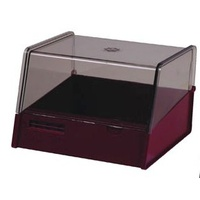 5x3 Card Box Burgundy Esselte 136250BUR for  System Cards